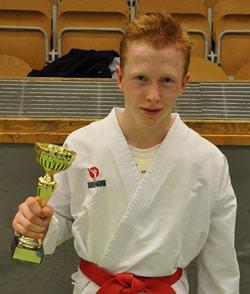 Daniel Barkelind guld kumite -52 kg